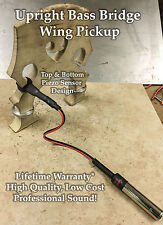 Upright Bass Double Piezo Bridge Wing Pickup LIFETIME WARRANTY!!!