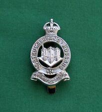 The Northumberland Hussars Yeomanry ~ Genuine British Army Military Cap Badge