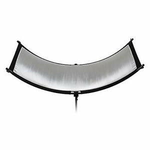 Fotodiox Crescent Moon Reflector - Curved Beauty Catch Light Reflector for Po...
