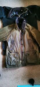 2 Barbour  Wax Jacket Green Vintage 90s C40/ 102 read detalis