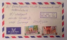 Brief Jordan  Jordanien Nach Stuttgart 14062A