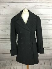 Women's Warehouse Coat - UK10 - Grey - Wool Blend - Great Condition