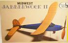 """Midwest JABBERWOCK II Free Flight W/S 31 3/4"""" Rubber, Bags SEALED"""