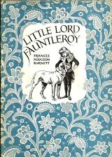 """""""Little Lord Fauntleroy"""" by Frances H. Burnett (1955) HC - Revised Edition"""