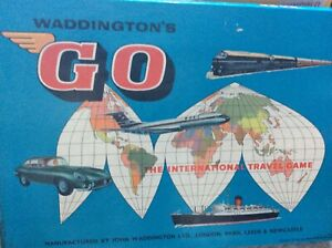 Go Game By Waddington vintage