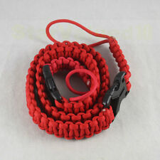 Lanyard Strap Sling Paracord DIY Side Release Buckle To Camera Camcorder Bag RED