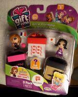 Gift Ems Child Toy City Paris Tokyo 3 Pk 7 Pc Series 1 Gift Box HTF