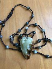 Exquisite Pixiu Jade Carving Necklace