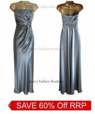 Satin Dresses Maxi with Strapless/Bandeau