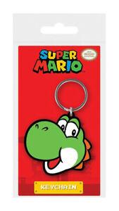 Super Mario porte-clés caoutchouc Yoshi 5 cm Nintendo keychain 38924C