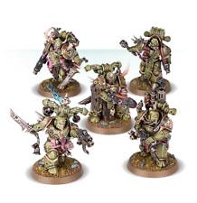 Warhammer 40,000 Death Guard 5 Plague Marines New on Sprue