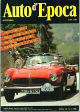 Auto d'Epoca n.9 del1990 : Trabant Story, Lotus, .....