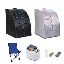 More details for 2.5l portable steam sauna tent spa slimming loss weight full body detox therapy