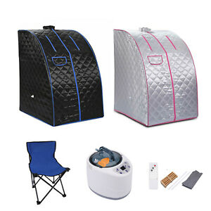 2.5L Portable Steam Sauna Tent Spa Slimming Loss Weight Full Body Detox Therapy