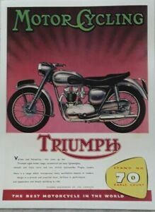 Motor Cycling Posters 40cm x 30cm  - Multiple Listing