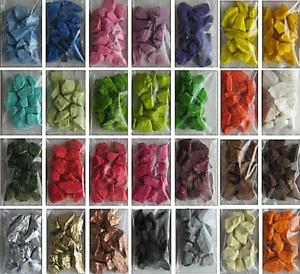 Coloured Marble Stones Aquarium Gravel Artist Home Decor Crafts Rocks Garden!