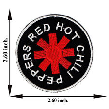 Red Hot Chili Peppers Music Rock Band  Applique Iron on Patch Sew For T-shirt