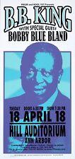 B.B. King HANDBILL Bobby Blue Bland Concert 2000 Mark Arminski