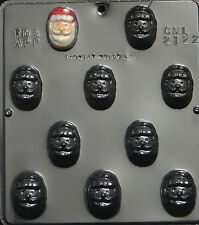 Santa Face Chocolate Candy Mold Christmas 2122 NEW