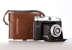 Vintage 1950's Franka Solida Record Camera With Case
