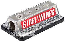 NEW STREETWIRES DB0480 POWER/GROUND DISTRIBUTION BLOCK CAR STEREO 4/8 GAUGE