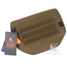 KRYDEX Dangler Drop Dump Pouch Fanny Pack Storage for Plate Carrier Coyote Brown