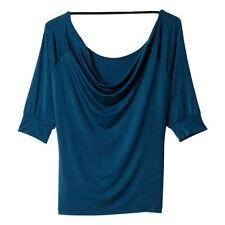 Maillots de fitness bleus pour femme