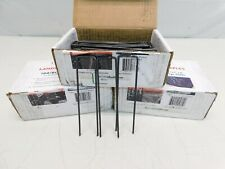 """Lot of 3 Boxes of 100 Landscape Staples 6"""" x 1"""" x 6"""" 11 ga. Steel"""