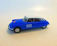 Citroen DS 19 Rally, azul, NOREV, 1:64