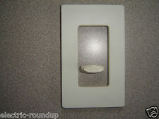 Lutron SW-1 W Ivory Single Gang  Decorator Wall Plate, No Visible Screws, NOS