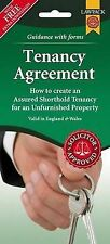 Unfurnished Tenancy Agreement Form Pack (England & wales) by Lawpack   Hardcover