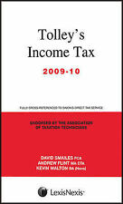 Tolley's Income Tax 2009-10: Main Annual by Smailes, David, Walton, Kevin