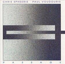 NEW-SEALED! CHRIS SPHEERIS AND PAUL VOUDOURIS - PASSAGE - CD