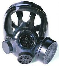 MSA FULL FACEPIECE RESPIRATOR - Advantage 1000 Hycar Riot Control Gas Mask (MED)