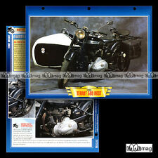 #102.10 Fiche Moto TERROT 500 RGST 1948-1956 Classic Motorcycle Card