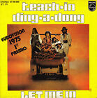 "7"" EUROVISION 1975 TEACH-IN ding-a-dong 45 SINGLE SPANISH let me in"