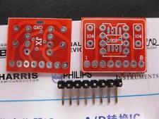 1 Pieces SOP8 DIP8 TO ZIP8 SIP8 PCB  JRC5532