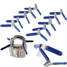 10x Padlock SHIM KIT Dietrich Profi Lockpicking Set Pickset Schloss Knacken Lock