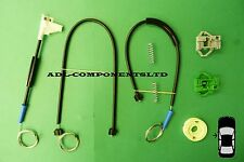 VW Polo Classic/VW Caddy MK2 Ventana Regulador Reparación Kit Frontal Izquierdo Volkswagen