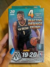 Panini 2019-20 Mosaic NBA Basketball Trading Cards, Hanger Box - 20 Cards