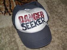 "Boys Gymboree White Water Explorer ""DANGER SEEKER"" Cap Size 5-7"