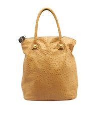 Chloe Tan Ostrich Large Tote