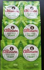 Allinson Easy Bake Yeast - 6 x 7 g Sachets - bread making machine & Hand baking