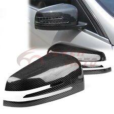 For Mercedes-Benz W204 W218 W212 C350 ML350 ML550 Carbon Fiber Mirror Covers FM