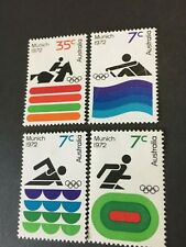 Early Australian Decimal Stamps. 1972 Munich Olympics  MUH