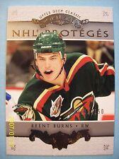 "2003-04 UD Classic Portraits ""NHL Proteges"" SP # 185 Brent Burns RC!   0741/1150"