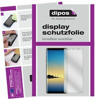 2x Samsung Galaxy Note 8 Film de protection d'écran protecteur clair dipos