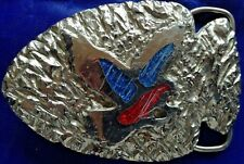ARROWHEAD EAGLE Solid Metal Belt Buckle