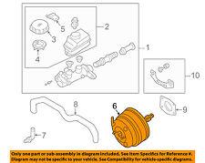 Infiniti NISSAN OEM 03-04 M45-Power Brake Vacuum Booster 47210CR925