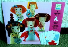 Djeco Japanese Paper Dolls Complete, Unused, Still Sealed!